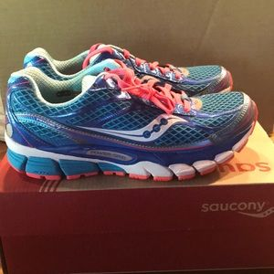 Saucony Ride 7 Size 7 Blue New Never Worn